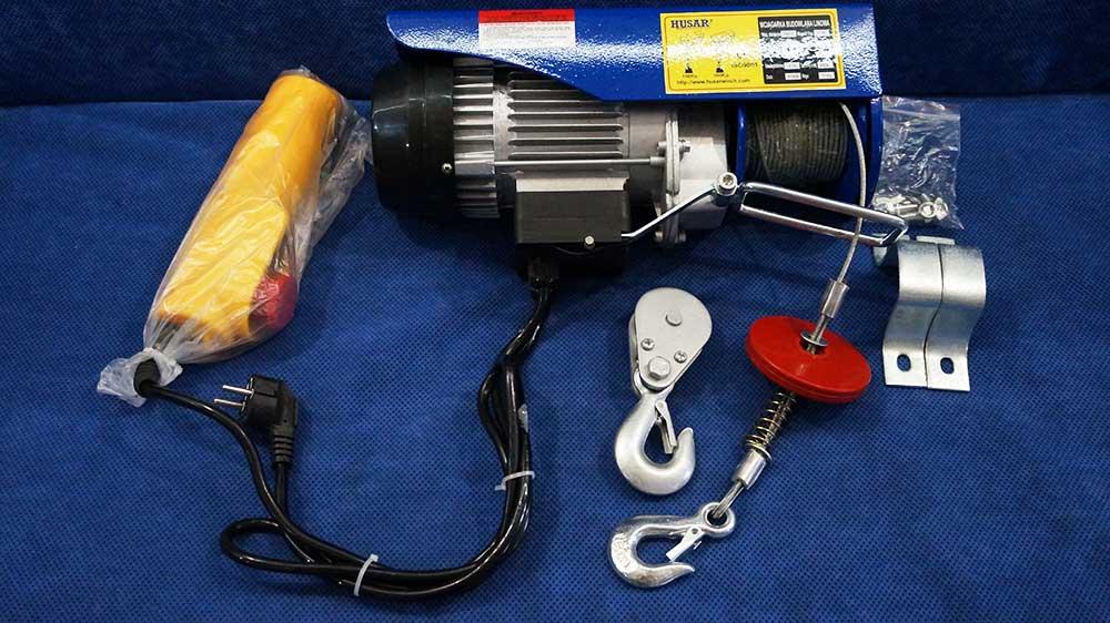 Тельферы электрические применение