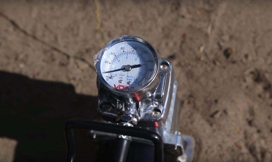 Манометр давления компрессора