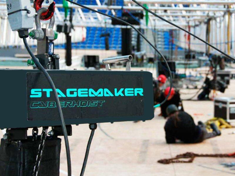 Стоимость сценических лебедок Stagemaker