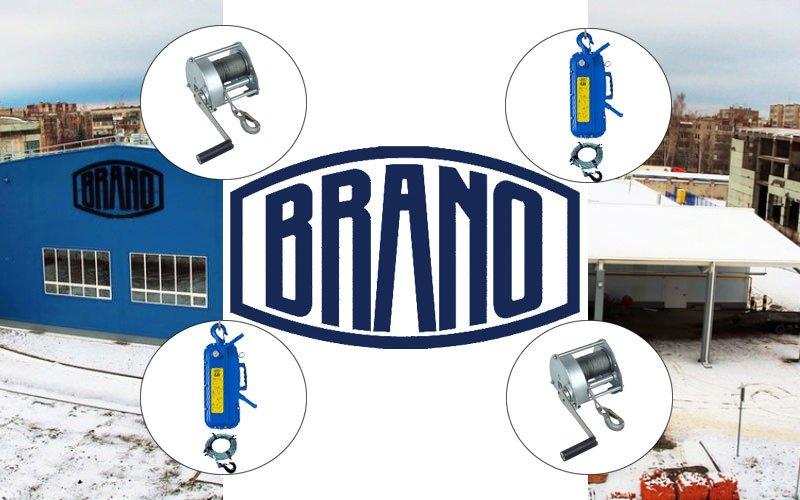 Стоимость лебедок Brano
