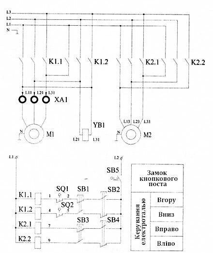 Схема електричної талі 220в