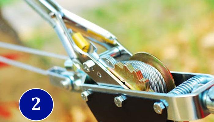 Механическая лебедка рычажная от Intertool