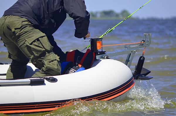 Купить ручную лебедку для лодки
