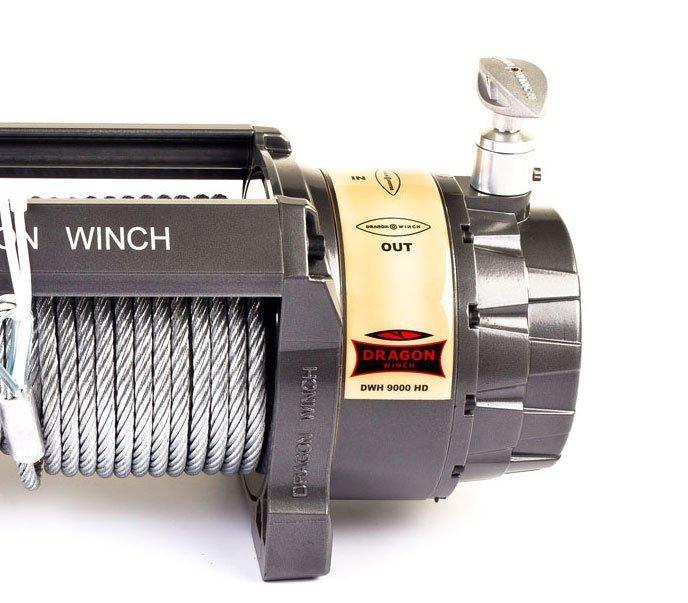 Сколько стоит электрическая лебедка Dragon Winch DWH 9000 HD